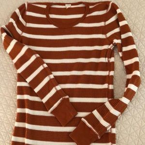 J.Crew long sleeve pullover top.